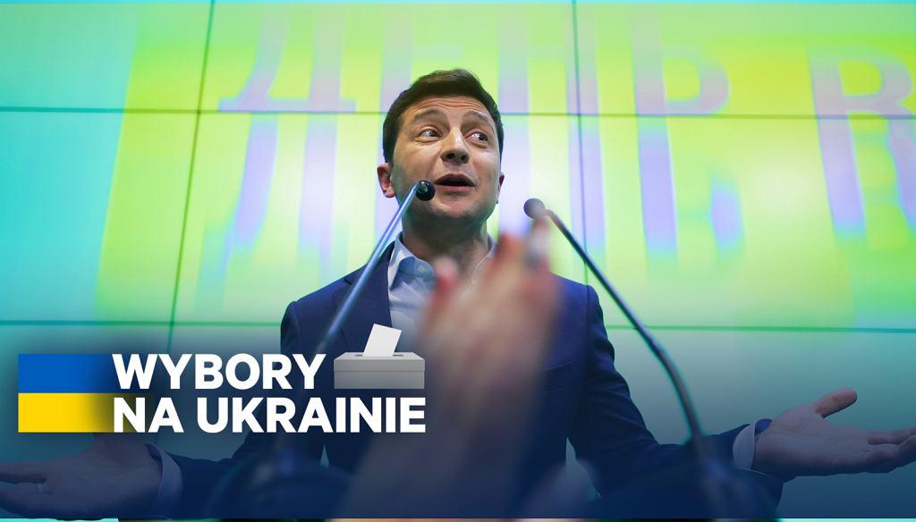 Wybory na Ukrainie. W II turze wygrywa Wołodymyr Zełenski