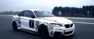BMW M235i Racing w akcji