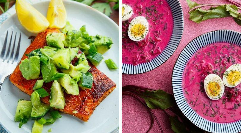 Przepisy na lekkie obiady na upalne dni