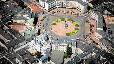 Plac Wolności w Łodzi