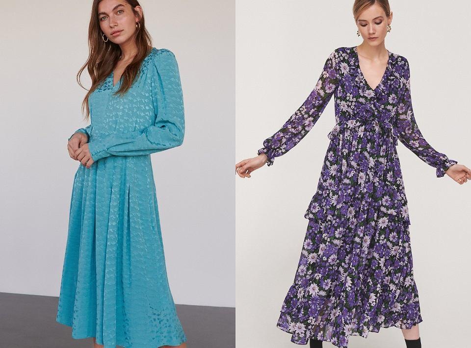 Sukienka Reserved na wiosnę 2020