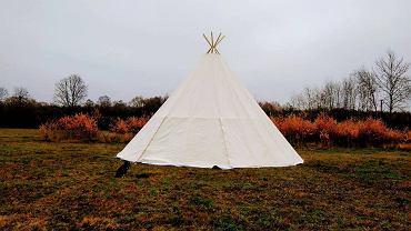 W Kalevali będzie 10 namiotów lavvu - czyli tradycyjnych schronień Lapończyków