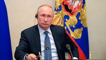 Władimir Putin w czasie konferencji G20
