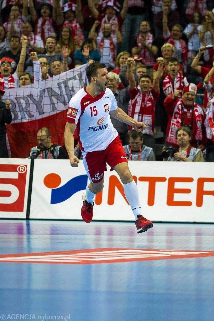 Mecz Polska - Białoruś na mistrzostwach Europy w piłce ręcznej 2016