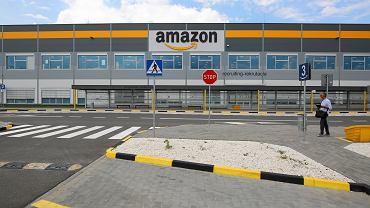 Polskie centrum logistyczne firmy Amazon w Sosnowcu