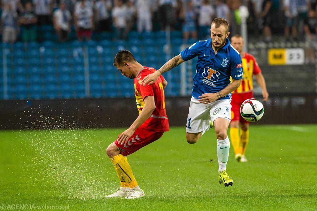 Lech Poznań - Korona Kielce 0:0. Kamil Sylwestrzak, Gergo Lovrencsics