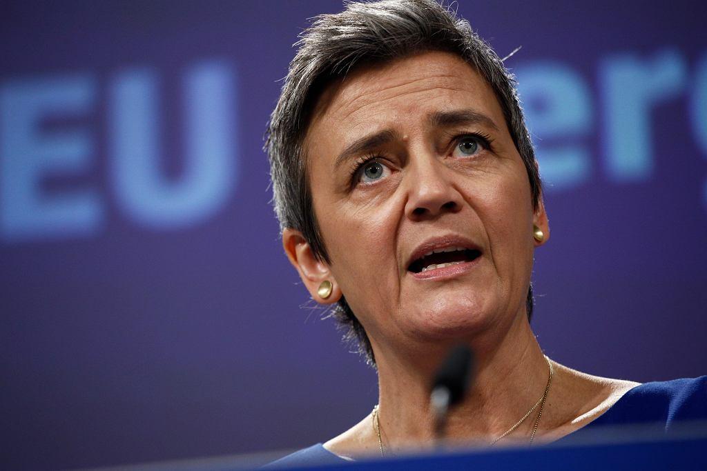 Margrethe Vestager, komisarz UE ds. konkurencji