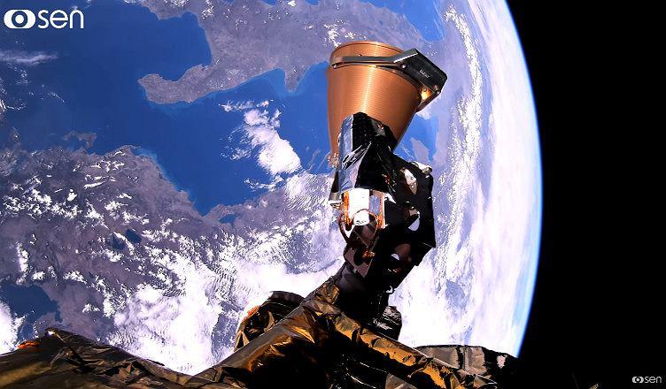 Zdjęcia kosmosu wykonane przez platformę wideo brytyjskiej firmy Sen