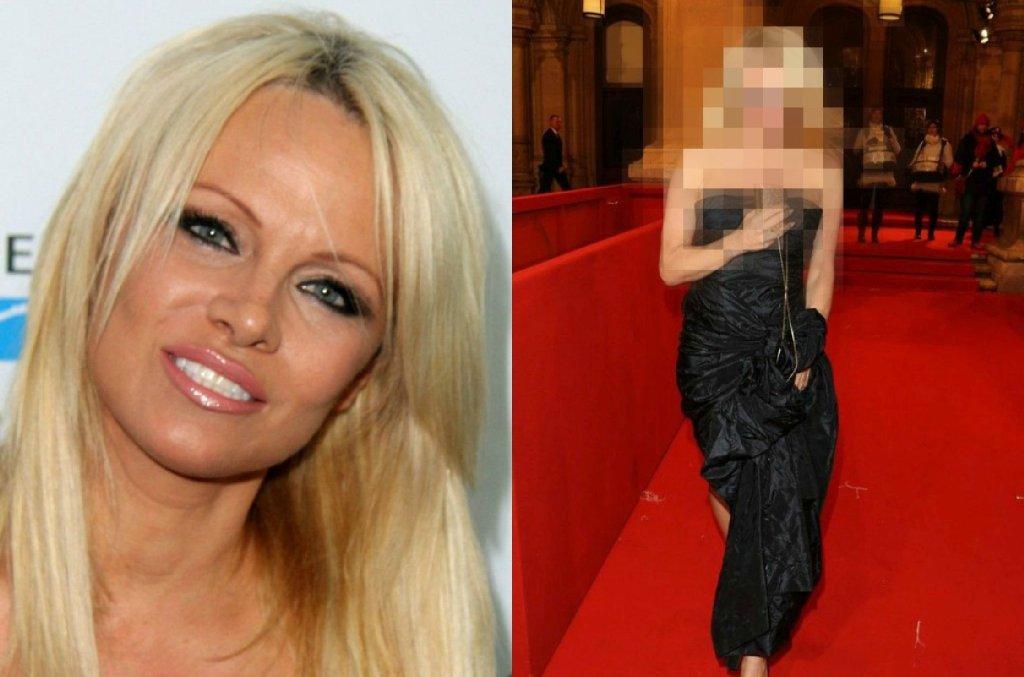 Pamela Anderson w sierpniu 2015 i teraz