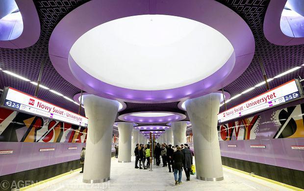 Stacja Nowy Świat - Uniwersytet. Druga linia metra