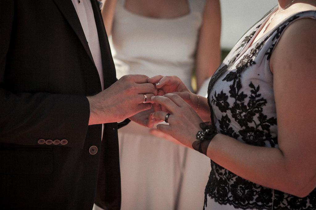 Goście nazwali ślub Hani i Piotra