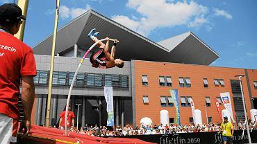 Szczecin Arena - konkurs skoków o tyczce sprzed tygodnia