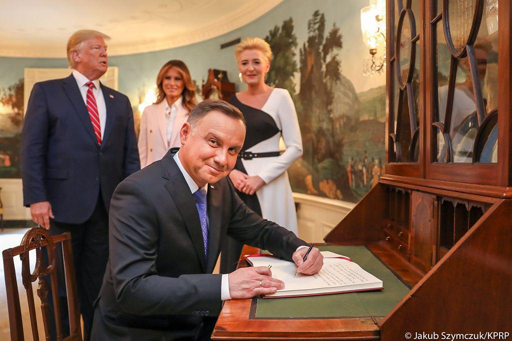 Prezydent Andrzej Duda w u USA