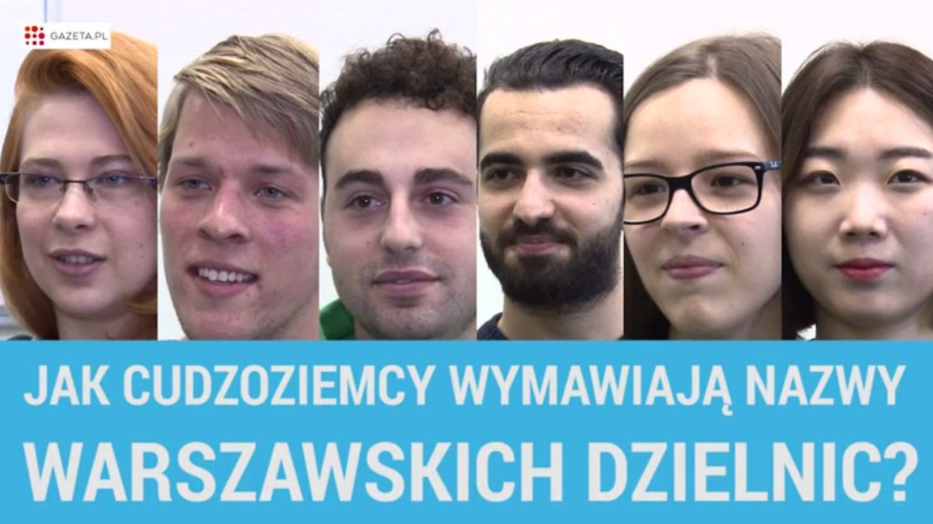 Cudzoziemcy stawiają czoła nazwom warszawskich dzielnic
