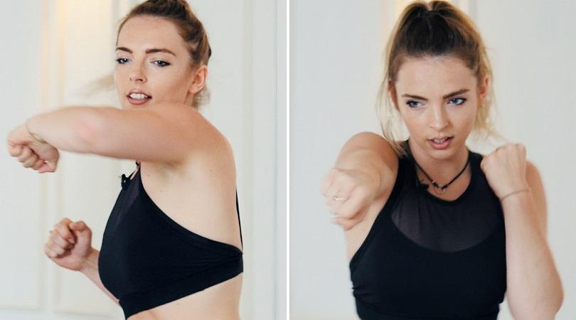 Fitness fight na mięśnie brzucha