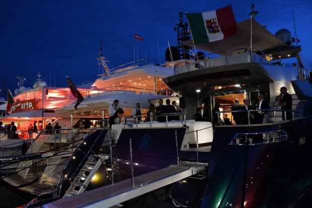 Roberto Cavalli yacht party at the 67th Annual Cannes Film Festival on May 21, 2014. Credit: Timm/face to face      fot. Face to Face/REPORTER