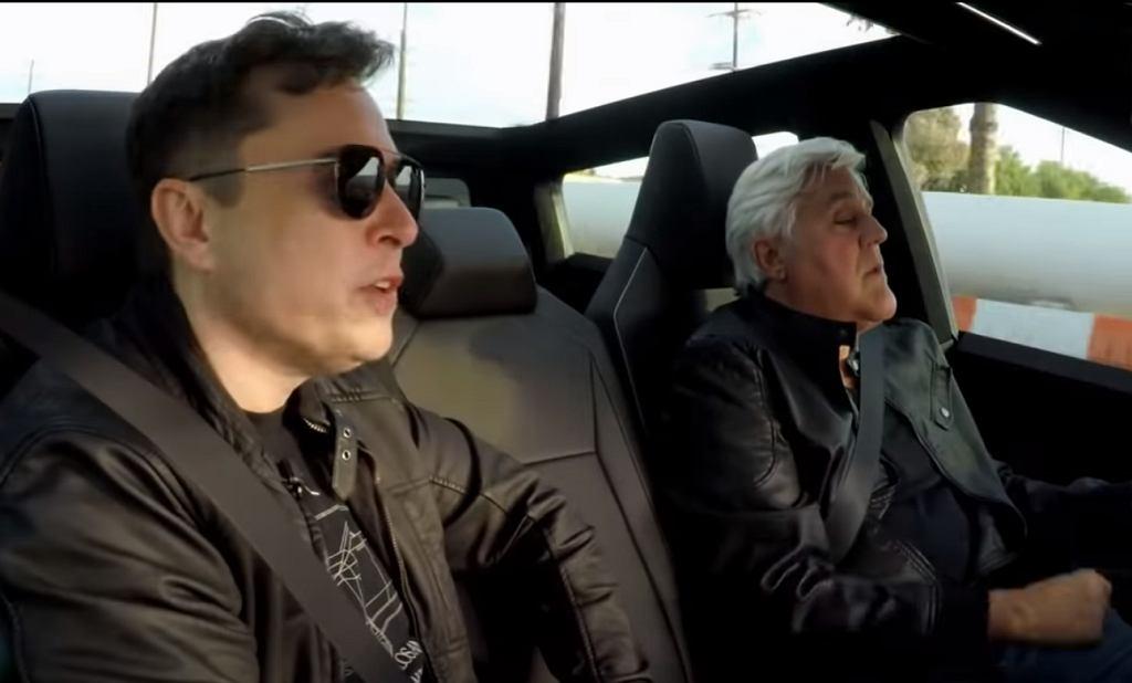 Elon Musk i Jay Leno