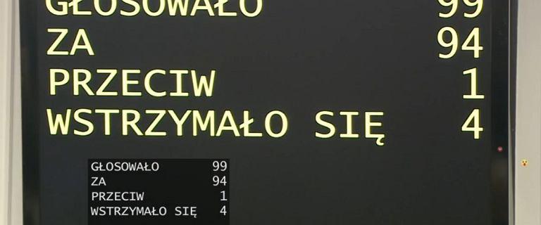 Senat przyjął z poprawkami ustawę o wyborach prezydenckich. Czas na Sejm