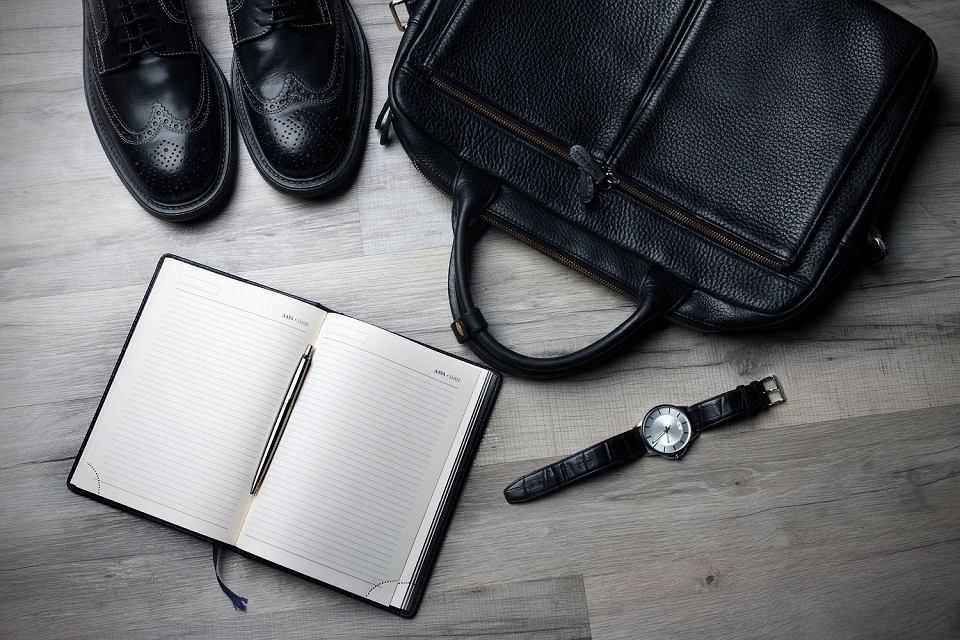 Torba na laptopa i dokumenty