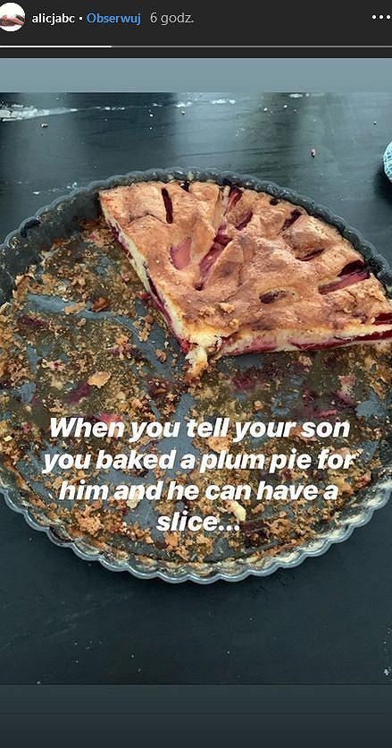 Ciasto Alicji Bachledy-Curuś