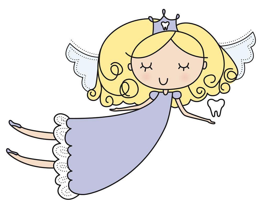 Wróżka zębuszka, zwana również zębową wróżką, to postać baśniowa, odwiedzająca małe dzieci, którym wypadnie ząb mleczny.