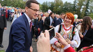 Premier na Święcie Wdzięczni Polskiej Wsi w Wąwolnicy