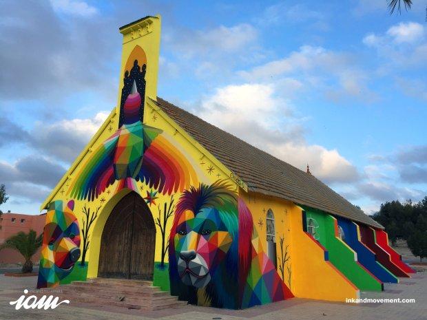 Ten kościół od lat był zamknięty i niszczał. Teraz jest najweselszym elementem okolicy [ZDJĘCIA]