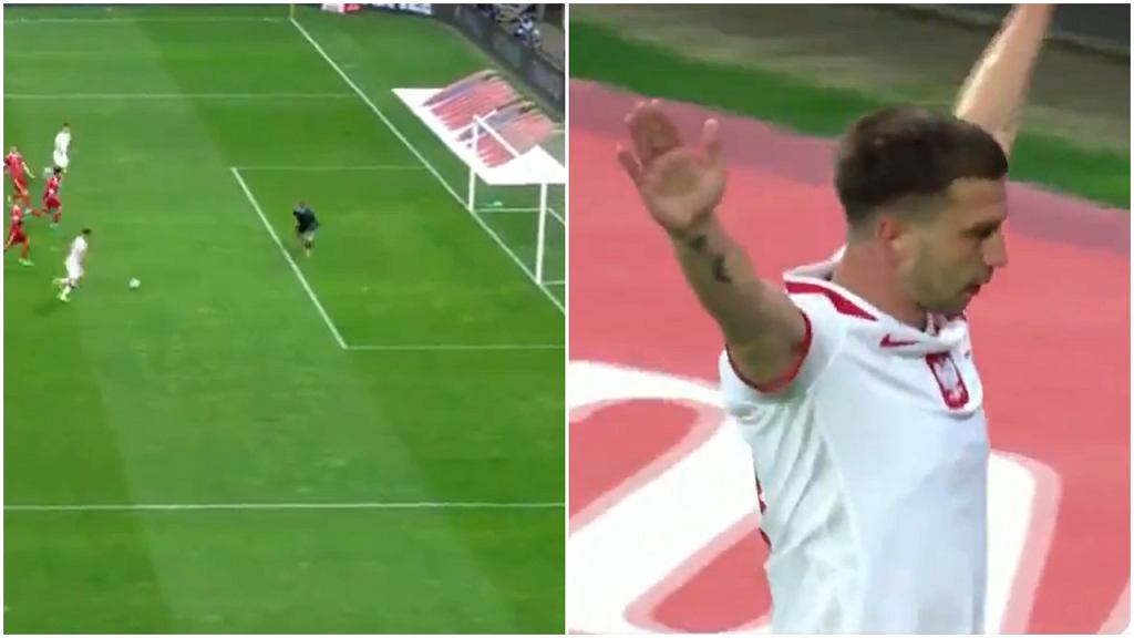 Jakub Świerczok zdobył debiutancką bramkę w reprezentacji Polski