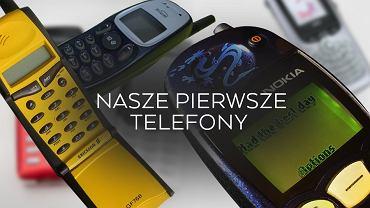 Pierwsze telefony