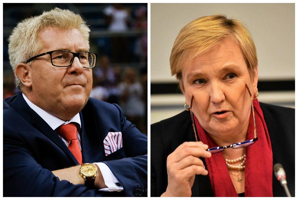 Róża Thun, Ryszard Czarnecki