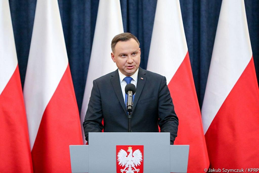 Prezydent Andrzej Duda podpisze ustawę o IPN