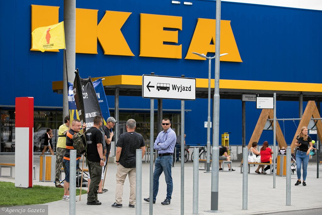 Ikea. Zdjęcie ilustracyjne