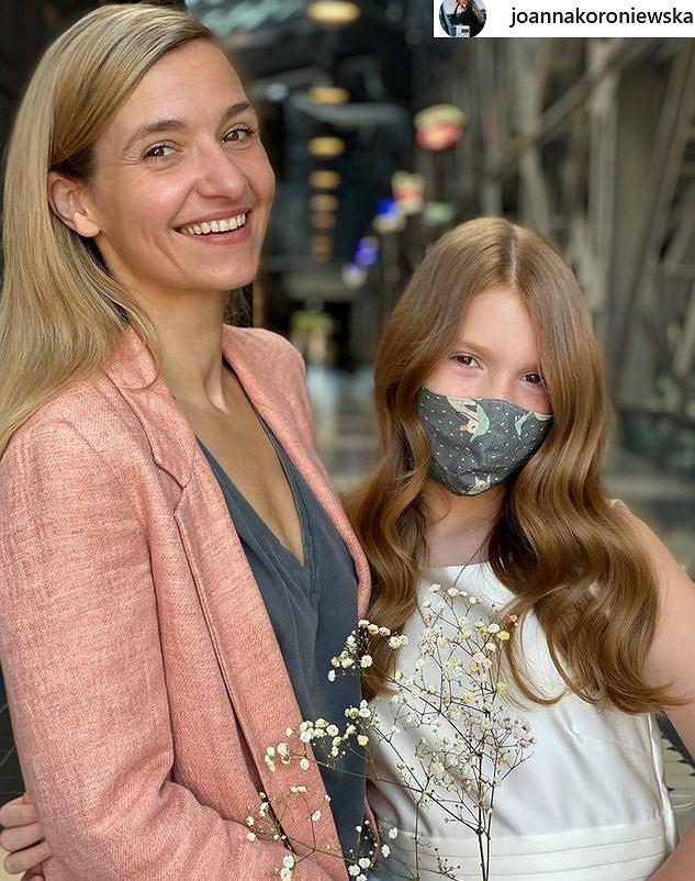 Joanna Koroniewska z córką