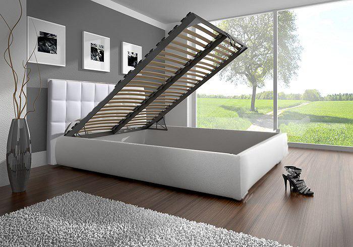 Łóżko ze schowkiem