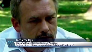 """Jarosław Hyk w materiale """"Wiadomości"""""""