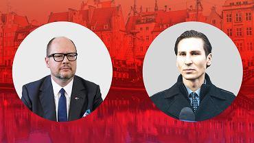 Paweł Adamowicz i Kacper Płażyński