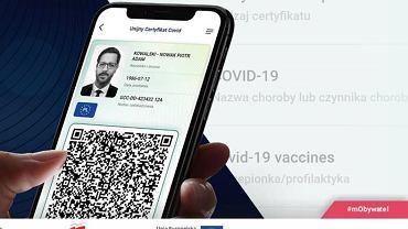 Paszport covidowy jest już do pobrania w aplikacji mObywatel
