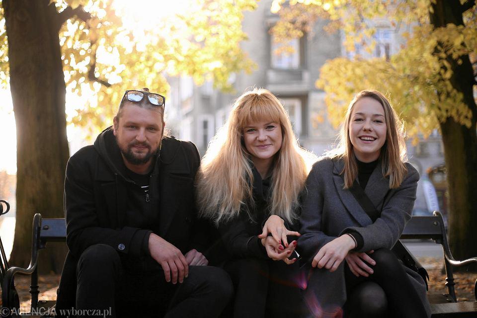 Łukasz Kowalski, Maria Sztark i Agata Grzybowska