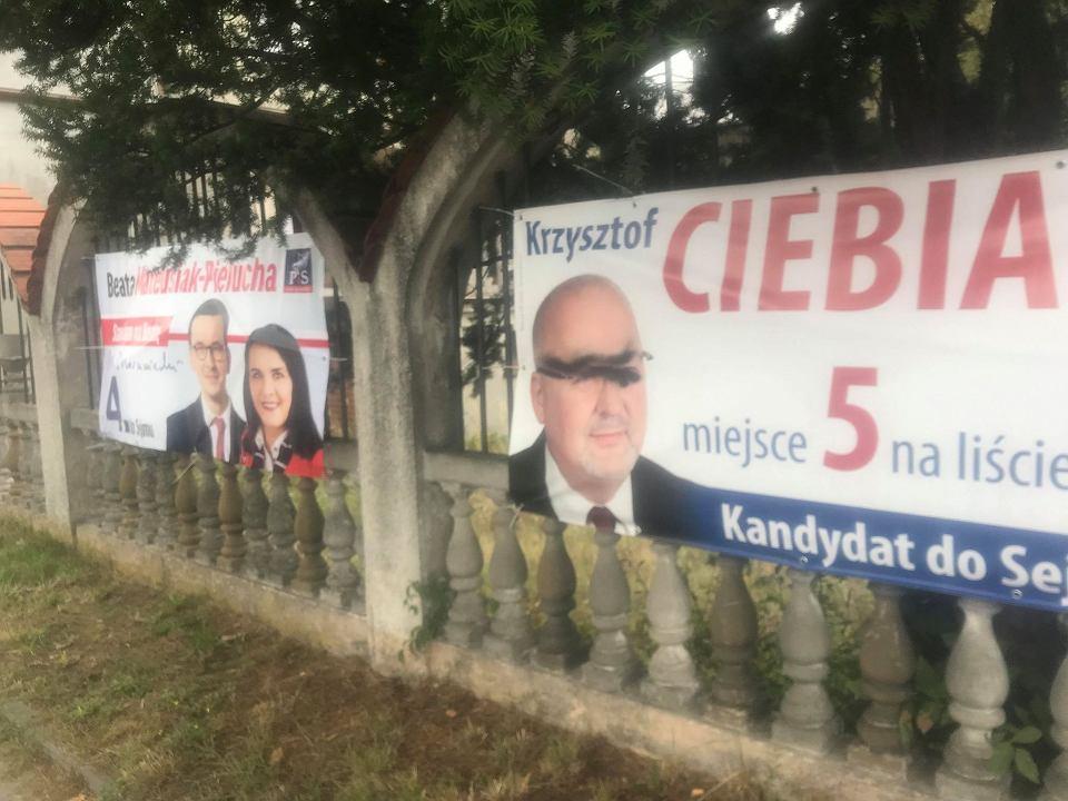 Wybory Parlamentarne 2019 Dziesiątki Zniszczonych Banerów