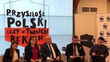 W debacie WWF wzięli udział: Agnieszka Pomaska, Ewa Lieder, Andrzej Kobylarz, Michał Urbaniak i Łukasz Kowalczuk