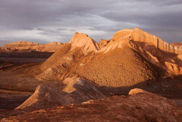 Pustynia Atacama - najsuchsza pustynia na świecie.