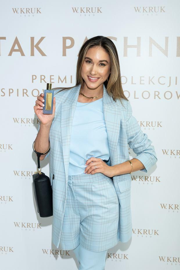 Ida Nowakowska na premierze nowej kolekcji perfum W.KRUK