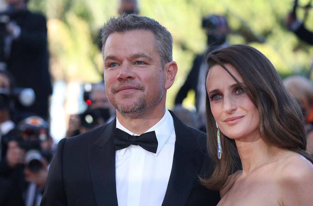 Cannes - Matt Damon i Camille Cottin