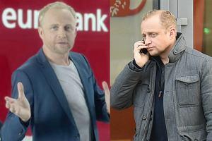 Piotr Adamczyk został niedawno sfotografowany, gdy wychodził z jednego z warszawskich banków. Nie byłoby w tym nic złego, gdyby nie fakt, że aktor od wielu lat reklamuje konkurencyjny Eurobank. Czy oferty, które poleca swoim fanom, nie spełniają jego oczekiwań? Zobaczcie zdjęcia!
