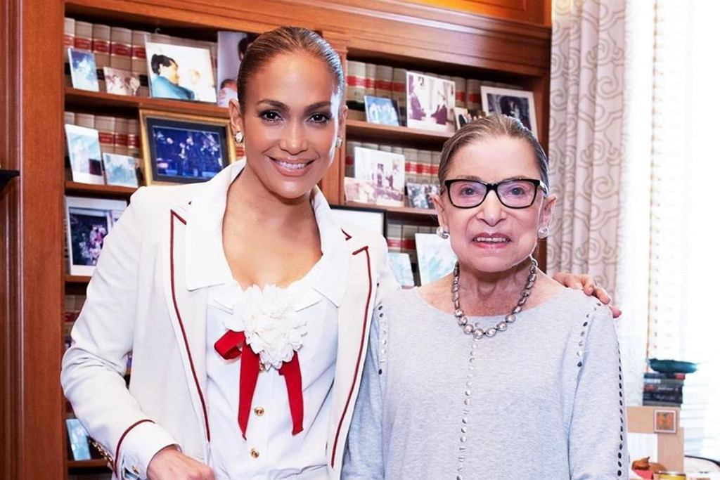 Jennifer Lopez, Ruth Bader Ginsburg