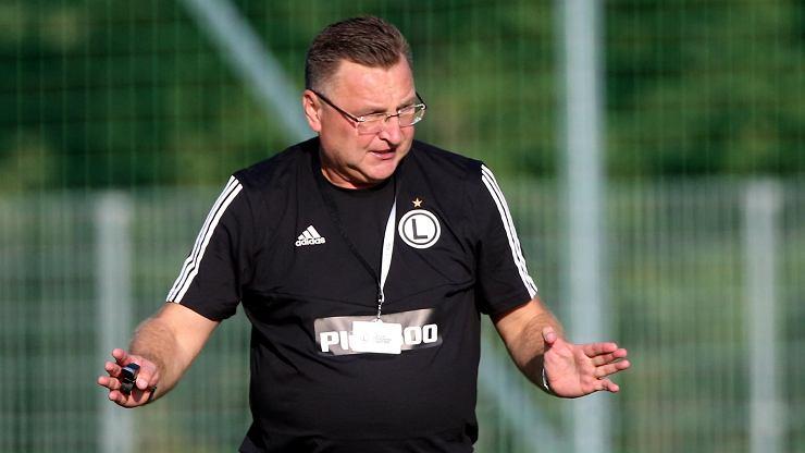 Legia Warszawa zagrała z mistrzem Węgier. Michniewicz: Sytuacja jest jaka jest
