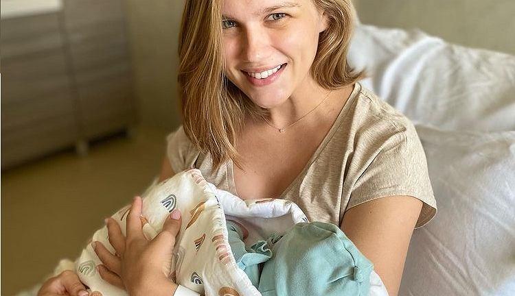 Agnieszka Kaczorowska urodziła dziecko. Zdecydowała się na wciąż nietypowy poród