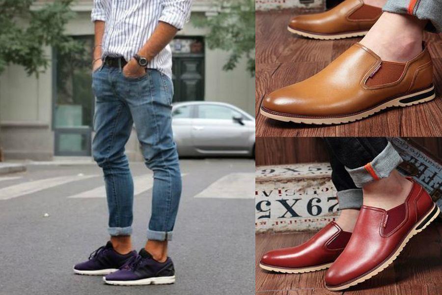 modne buty męskie wiosna lato 2018