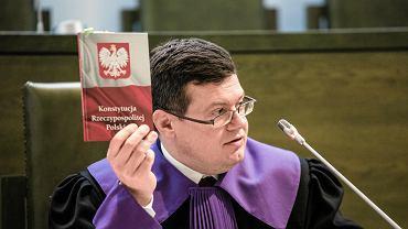Krystian Markiewicz, prezes stowarzyszenia sędziów Iustitia