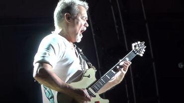 Eddie Van Halen na ostatnim koncercie